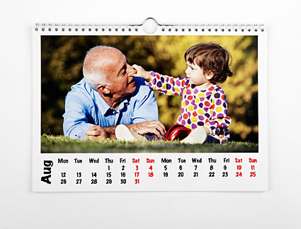 Create your own personalised calendar