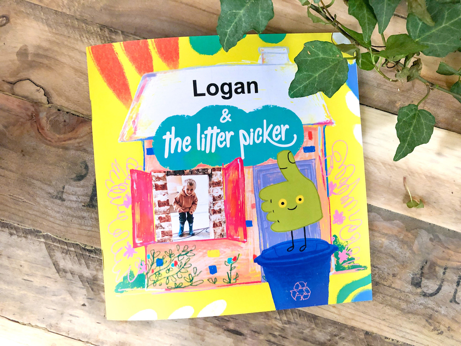 the litter picker softcover story book